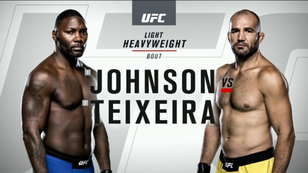 UFC 202 Weigh-ins Anthony Johnson vs. Glover Teixeira 2