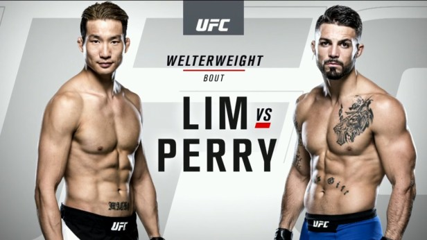 UFC 202 Weigh-ins Lim Perry