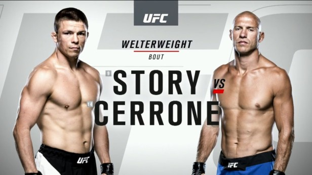 UFC 202 Weigh-ins Rick Story vs. Donald Cerrone 2