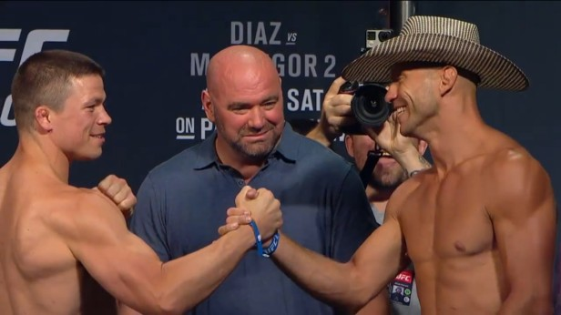 UFC 202 Weigh-ins Rick Story vs. Donald Cerrone