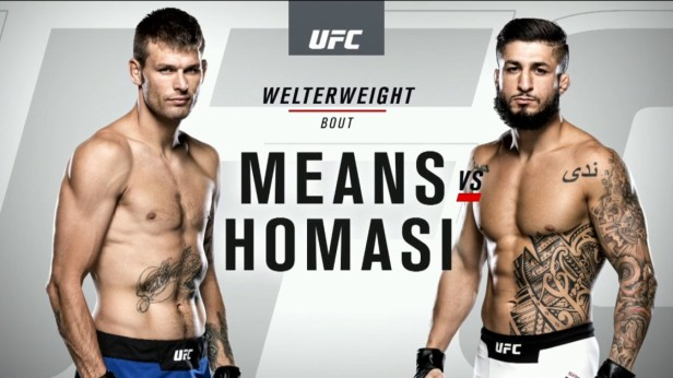 UFC 202 Weigh-ins Tim Means vs. Sabah Homasi