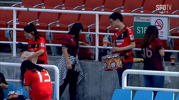 Ansan Mugunghwa v Gyeongnam Sept 2016 (1)
