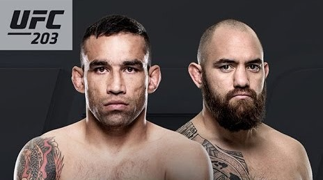 Fabricio Werdum vs. Travis Brown UFC 203