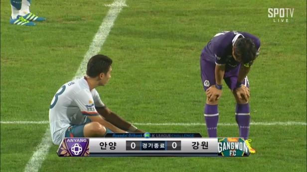 FC Anyang v Gangwon Sept 2016