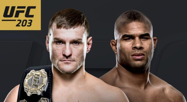 Stipe Miocic vs. Alistair Overeem Heavyweight Championship
