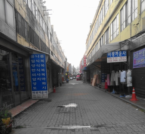 market-street-near-dongincheon-station