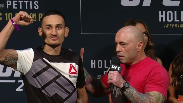 max-holloway-with-joe-rogan