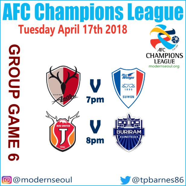 AFC Champions League Week 6 Predictions (April 17th-18th