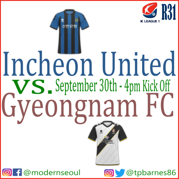 K League 2018: September 29th-30th (Predictions) – Modern Seoul